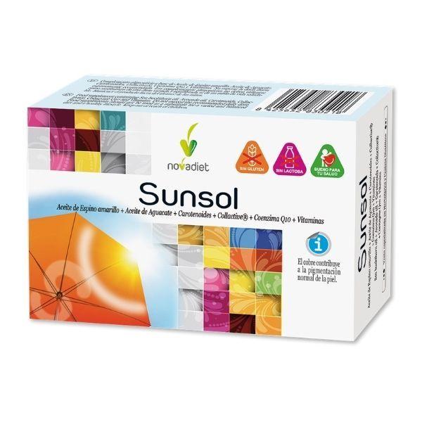Sunsol novadiet producto para la piel