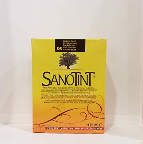 Tinte Castaño Oscuro Nº06 Sanotint