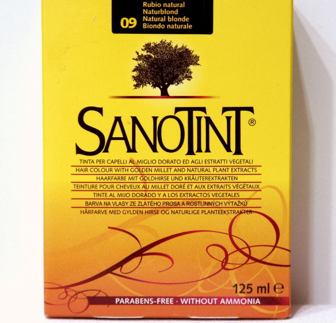 Tinte Rubio Natural Nº09 Sanotint