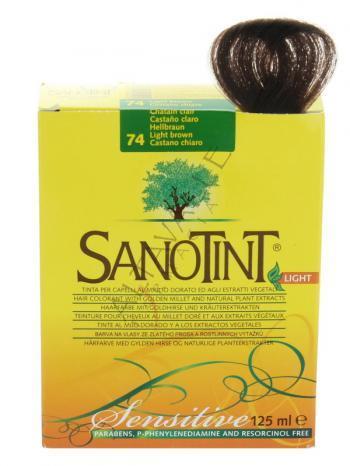 Tinte Light Castaño Claro Nº74 Sanotint