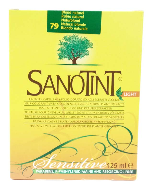 Tinte Light Rubio Natural Nº79 Sanotint