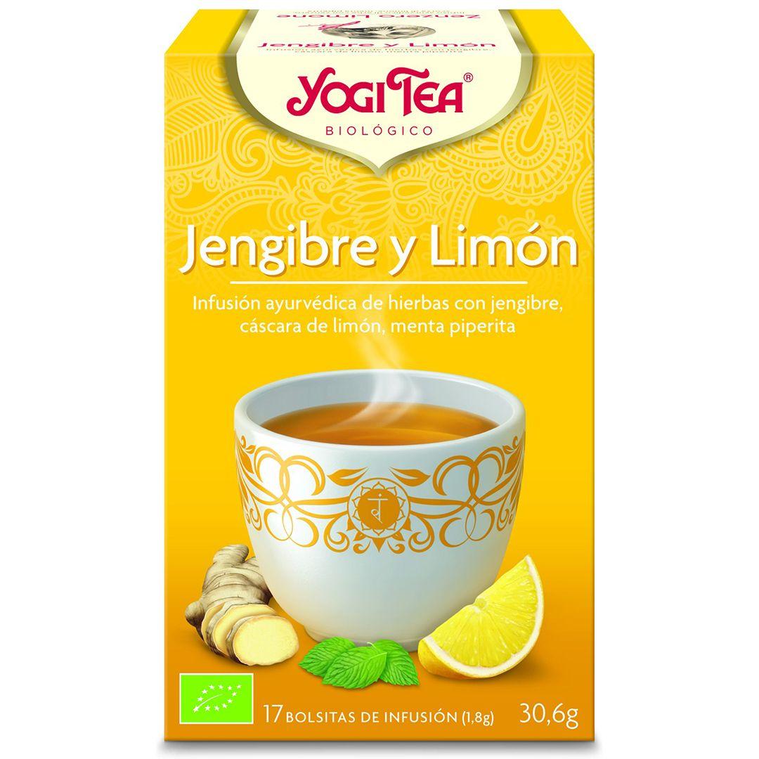 jengibre limón yogi tea