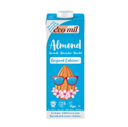 leche de almendras con calcio